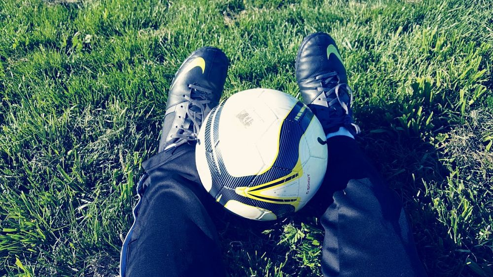 Vintage Photo Soccer⚽ Cleats Hello World Getonmylevel Enjoying Life Relaxing Hanging Out PracticeMakesPerfect Dontgiveup