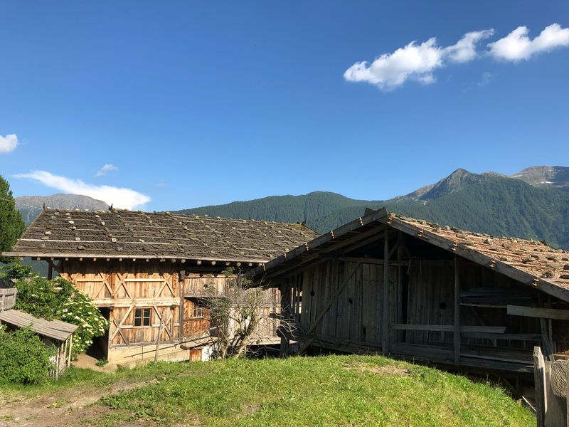 Alto Adige Ultental Südtirol South Tyrol Italy Italien Italia Architecture Built Structure Building Exterior Sky Building Mountain House Cloud - Sky Nature Day No People Residential District Landscape Roof Rural Scene
