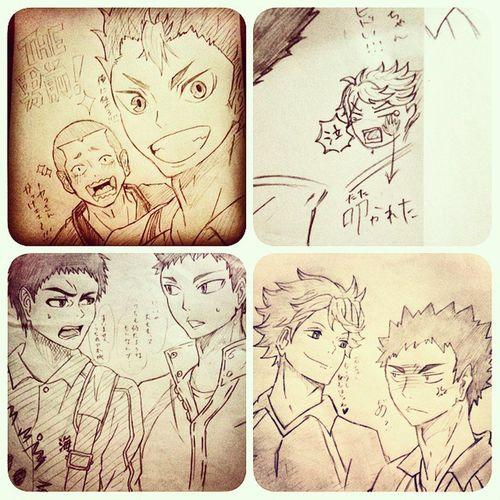 Anime Comic Hq Kuroko No Basket Illust 漫画 ハイキュー!! 黒子のバスケ 絵