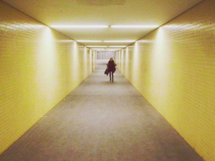 Tunel U-Bahn Berlin
