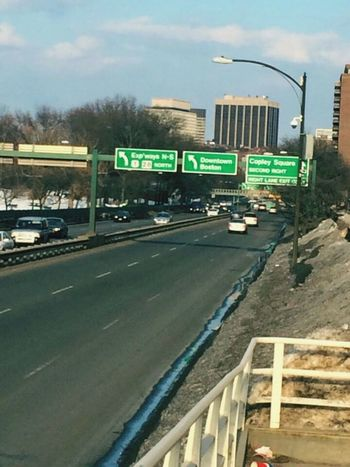 Boston, Ma. Highways On The Road Boston Beautiful Day Early Spring Getting Creative Photography EyeEm Gallery In Motion