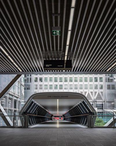 London EyeEm Selects Architecture Built Structure Transportation City Sign Direction Building Exterior Bridge - Man Made Structure No People Travel Destinations Modern