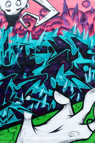 Backgrounds Blue Close-up Colorfultree Colorsplash Day Graffiti No People Pattern, Texture, Shape And Form Pink Color Snösätra Snösätragränd Street Art Streetart