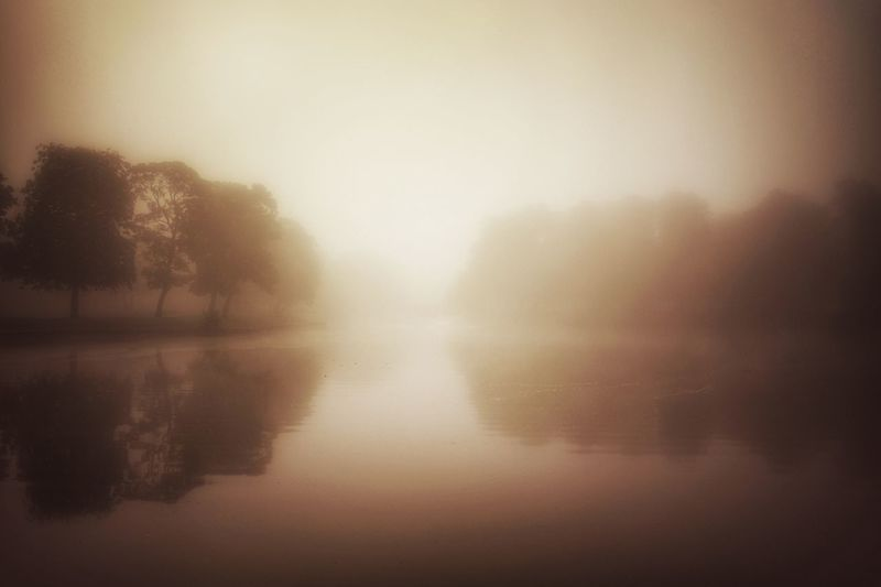 Reflection Sunset Clear Sky Water No People Outdoors Nature Tree Day Sky Liverpool England Miles Away Newsham Park Liverpool, England Misty Morning The Great Outdoors - 2017 EyeEm Awards Lost In The Landscape Be. Ready.