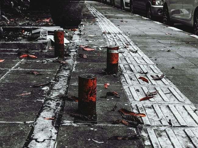 TakeoverContrast Transportation Street Road Road Marking High Angle View Asphalt Wet Season  Direction City Day Outdoors The Way Forward No People Gloomyday  Dramatic Angles Stone Material Architecture EyeEm Best Shots INDONESIA EyeEm Gallery EyeEmBestPics Scenics Non-urban Scene