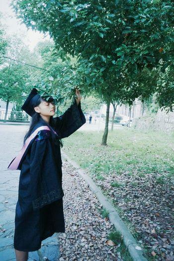 黄石 湖北理工学院 毕业季 学士服