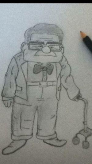 Art, Drawing, Creativity Themovieup MrFredrickson Pencil Drawing