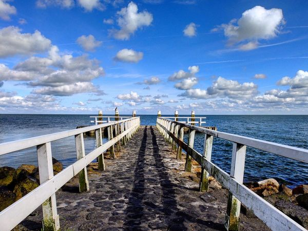 Just a pier and water. Pier Water Horizon Over Water Horizon Horizon Over Land Holland Ijsselmeer Thenetherlands Followme Like4like Likeforlike Fujifilm_xseries Fujifilm
