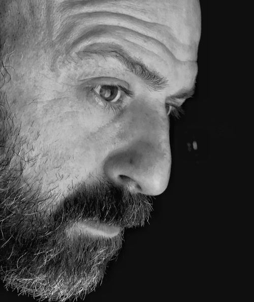 Beard One Person Contemplation Mature Adult One Man Only Only Men Portrait One Mature Man Only Headshot Mature Men Adults Only Human Face Adult Real People Close-up People Men Black Background Human Body Part Outdoors