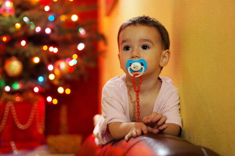 Childhood Child Innocence Cute Baby Christmas Babyhood Babyboy Baby Boy Little Boy Happiness