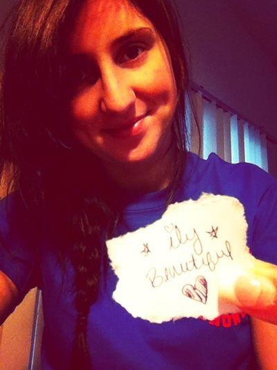 Ily beautiful. <3