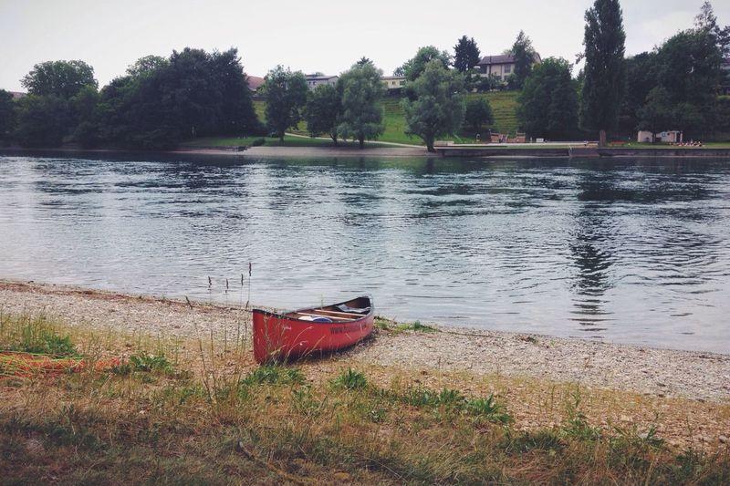 Canoe Kanu Rhein