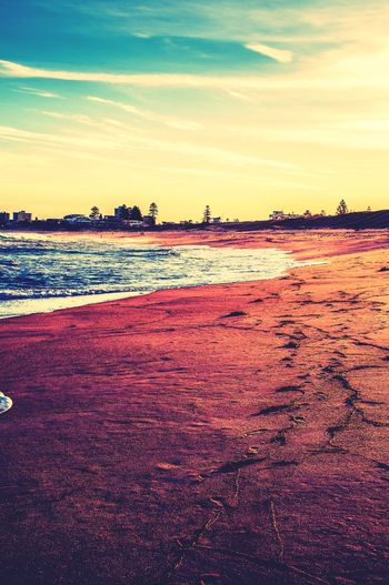 Beach Sand Scenics Red Sea Outdoors Nature Landscape Water Tranquility Sunset No People Sky Beauty In Nature Day