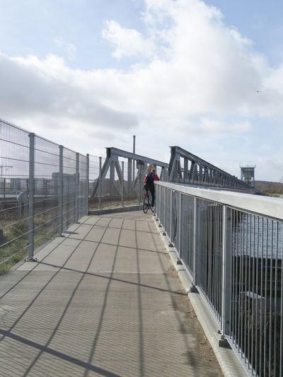 City Bridge - Man Made Structure Sky Built Structure Architecture Footbridge My Best Photo