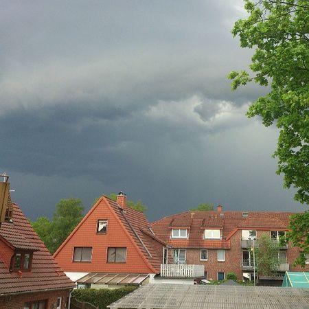 Gewitter incoming... #nofilter #gewitter #buchholz #nordheide Nofilter Gewitter Nordheide Buchholz