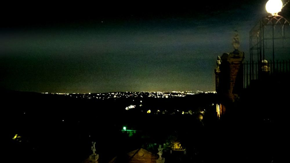 Blurred Motion Dark EyeEm Vision From The Balcony Illuminated Light Looking Out Of The Window Night Night Lights Skyline