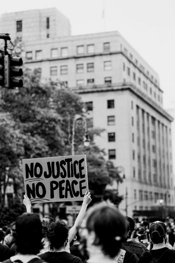 Blm protests - nyc