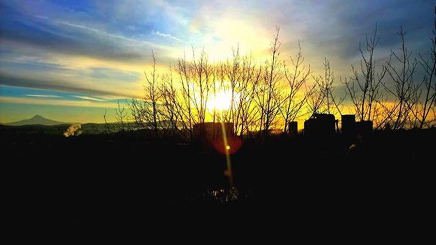 The sun does rise in Oregon Thatoregonlife Explororegon Oregonexplored Sunrise Sunrise_sunsets_aroundworld MtHood Cityscape Optoutside Nofilter Nfilterneeded Lumia ShotOnMyLumia  PNWonderland Pnwcollective Greettheoutdoors Love New Follow Theoutbound Me Instagood Picoftheday Centraloregon_igers LumiaLove Getoutside beautiful cloudporn therainhasstopped