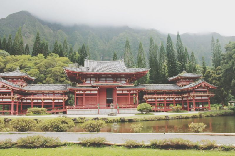 Byodo temple. Hawaii Temple Buddhism Photography