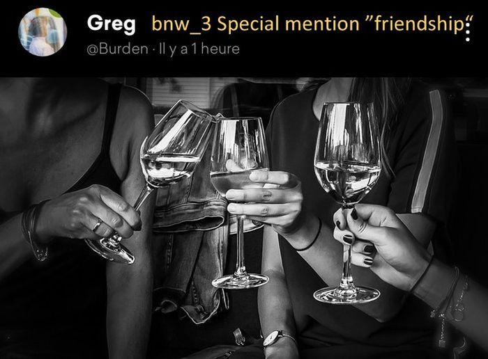 Pleasure to drink together, and very beautiful picture., Splendid light. Congratulations, dear Greg. Bnw_3 Bnw_friday_eyeemchallenge