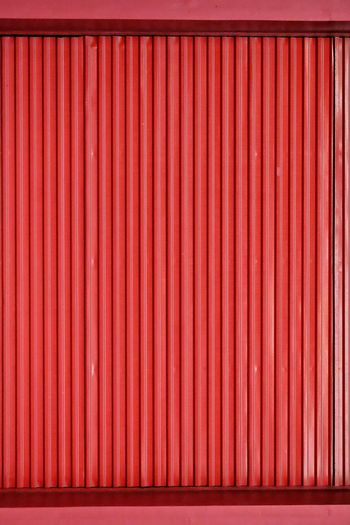 Showcase: January Textures And Surfaces Texture Stripes Straight Lines Stripes Backgrounds Abstract Minimalistic Minimalism Simplicity Simplistic Color Red X-M1 Street Photography Monochrome Metal Pattern Pieces