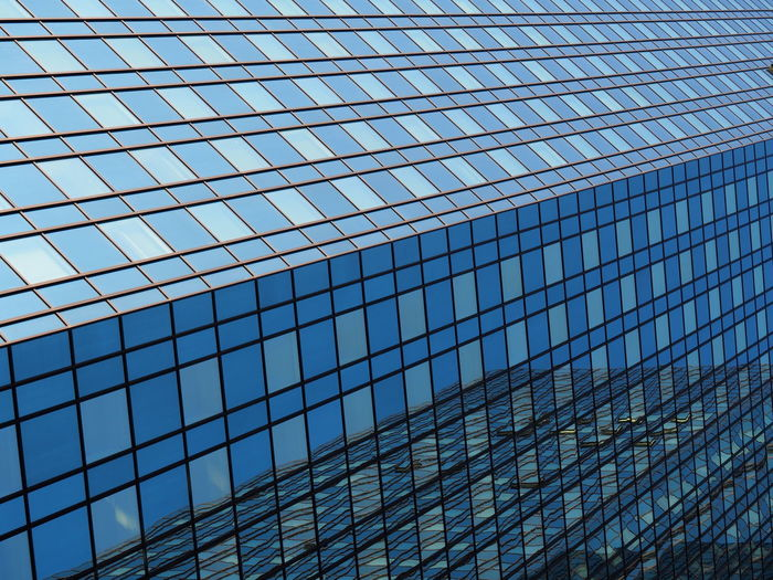 Architecture Backgrounds Building Exterior Built Structure City Corporate Business Day Financial District  Full Frame Glass - Material Low Angle View Modern No People Office Park Outdoors Reflection Sky Skyscraper The Architect - 2017 EyeEm Awards Window