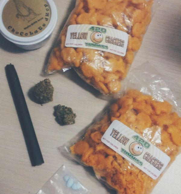 lazy day munchies Edibles Blunted Bars
