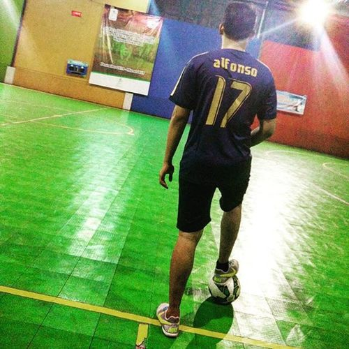 Futsal itu indah... ;) Hengpongphotograph Oneplusonecamera Futsal Futsalindonesia Jffclub