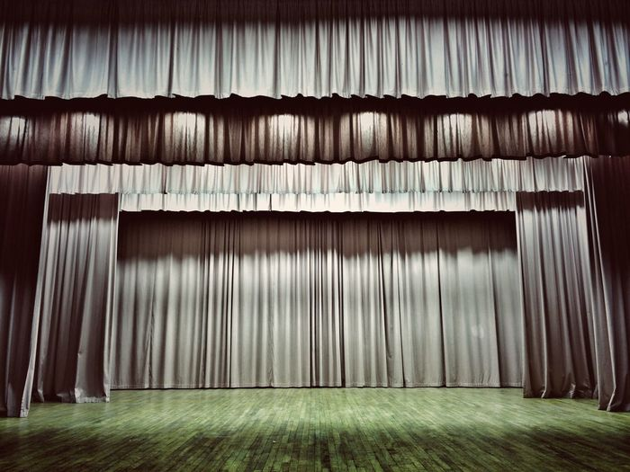 Play Theatre Curtain Theatre Curtain Stage Stage - Performance Space Stagephotography Curtain Decor Stage Theater Stages Stage Design No People Soft Pastel  Soft Pink Pink Pink Color