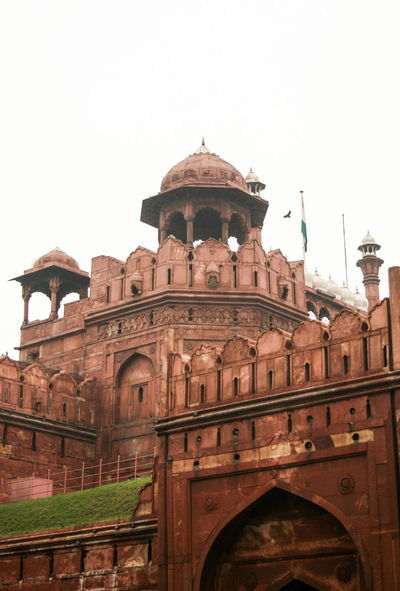 Red Fort, Delhi Architecture Building Exterior Built Structure Delhi Dome First Eyeem Photo History India Lal Quila New Delhi Red Fort Tourism Travel Travel Destinations