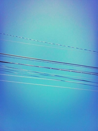 #sky #blue #morning #earlybird #wires #newday