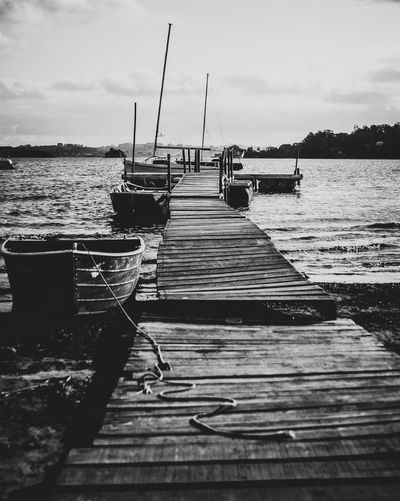 Around the lake Water Sky Sea Nature Transportation Pier Cloud - Sky Nautical Vessel No People Day Tranquility Sunlight Beach Outdoors Mode Of Transportation Scenics - Nature Land Tranquil Scene The Way Forward