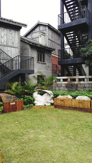 corner Garden Architecture Outdoors Building Exterior Built Structure No People Day Grass