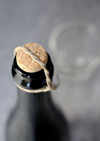 Close-up of bottle