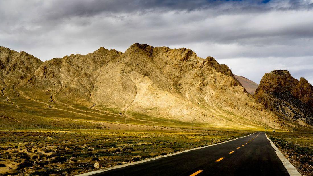 318 国道 Landscape Transportation Mountain Mountain Road