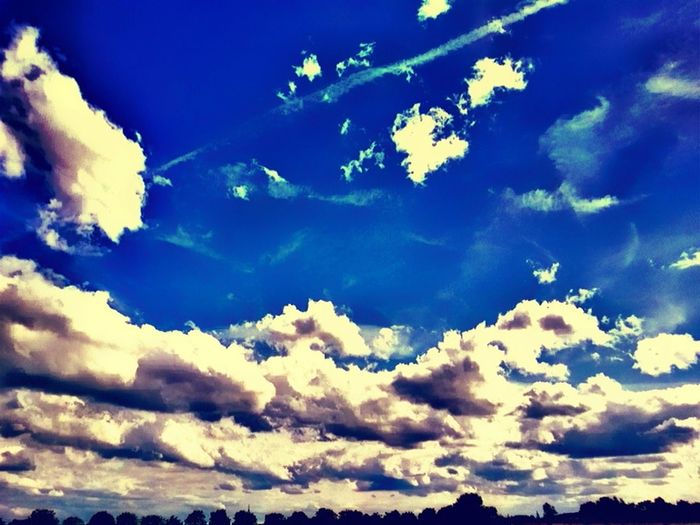 Landscape For My Friends That Connect HDR Hdr_Collection Blue Blue Sky Sun_collection, Sky_collection, Cloudporn, Skyporn Sky Collection Clouds Cloudporn
