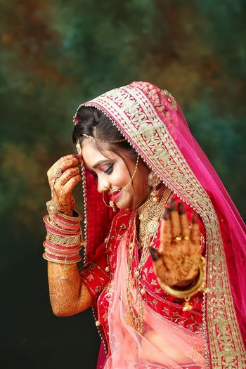 Bride in tradition clothing