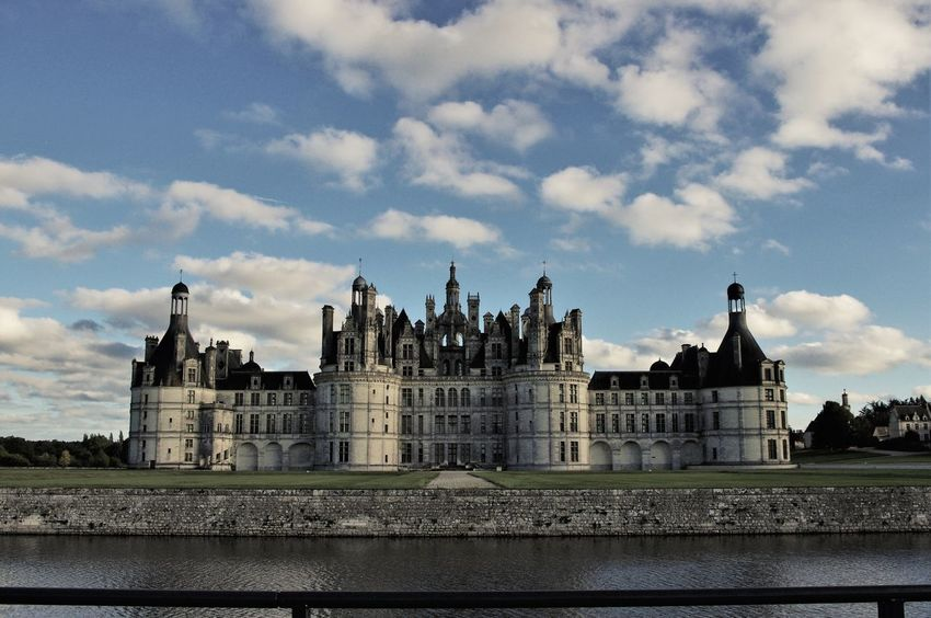 Architecture Building Exterior Built Structure Castle Chambord Day History No People Outdoors Travel Destinations Water