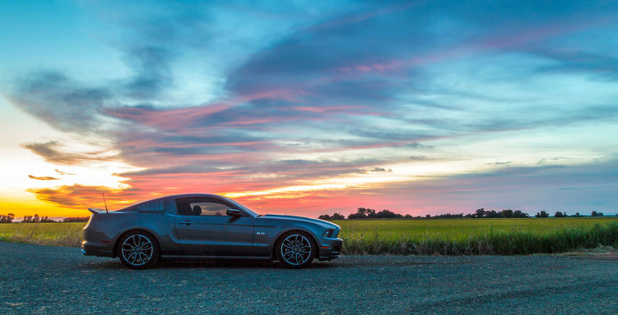 Sunset Cloud - Sky Dramatic Sky Sky California Photooftheday Photography American Muscle Pony Cars Muscle Car Ford Mustang Streetcarweekly Ford Norcal Sunsets