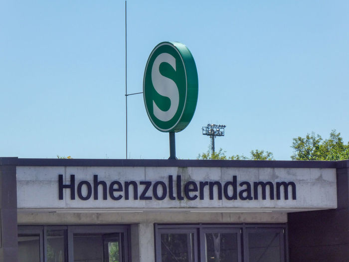 Berlin Hohenzollerndamm S-bahn station in the Wilmersdorf district of Berlin with a the neo-baroque entrance hall reminiscent of Art Nouveau design Hohenzollerndamm Public Transportation S Bahn S-Bahn Berlin S-Bahn Sign S-Bahn Station S-bahn Transport Transportation Architecture Built Structure Hohenzollern  Hohenzollerndamm No People Public Transport S Bahn Station S-bahnhof Sbahn Sbahnberlin Text Western Script