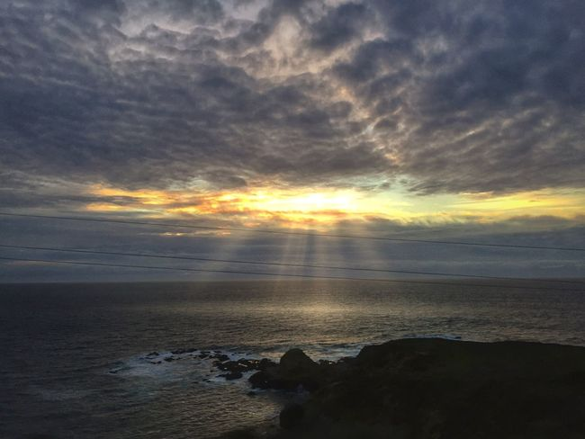 California IPhoneography Atmospheric Mood EyeEm Nature Lover Clouds Atmosphere Sunset Ocean Big Sur Mobile Photography