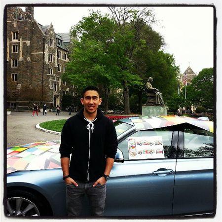 First artcar winner! Georgetown Bmw Artcar Creativecollaboration