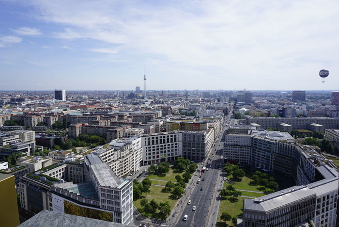 aerial view in Berlin Berliner Ansichten That Tower Again Urban Living Urban Landscape