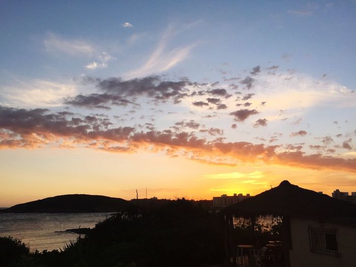 Sunset Guarapari Brazil Landscape EspirtoSanto Skyporn Sky Collection