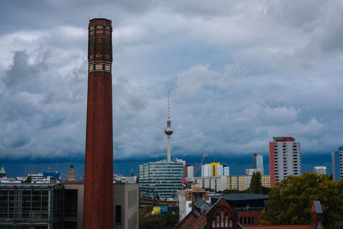 Berlin Fernsehturm Architecture Building Exterior Built Structure City Cityscape Cloud - Sky Communication Day Germany Modern Nature No People Outdoors Sky Skyscraper Tall - High Tower Travel Destinations Urban Skyline