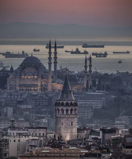 Istanbul Istanbul Turkey Istanbul City Turkey Türkiye Suleymaniyemosque Süleymaniyecamii Galata Tower Galata Galataturkiye Hello World EyeEm Best Shots EyeEm Gallery EyeEm Best Edits EyeEm Best Shots - Black + White