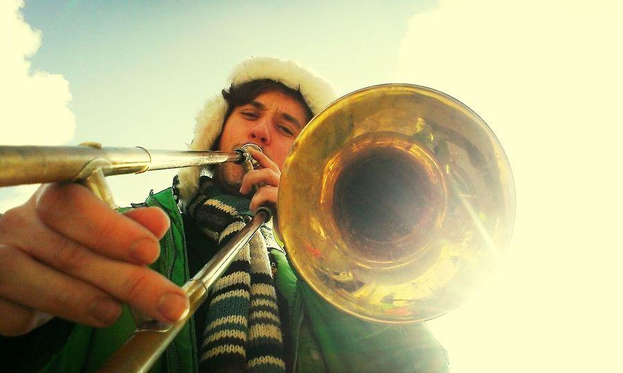 Trombone Music Carnaval Boy