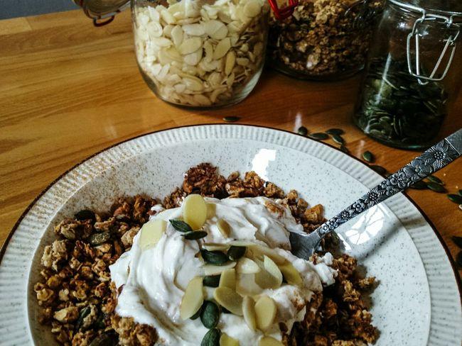 Food Foodporn Food Porn Breakfast Seeds Kitchen Homemade Food Granola Healthy Eating Bowl Yum Yummy Organic Organic Food Healthy Lifestyle Nuts