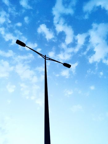 Streetphotography Sky And Couds Streetlight Hanging Around Eyeemstreetphotography
