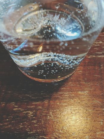 Tonic Water Dissolving Drink Drinking Glass Alcohol Table Close-up Food And Drink